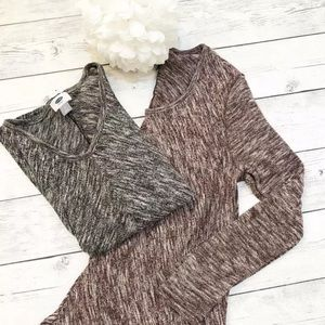 Pack Of Two Long Sleeve Sweaters - Size Small